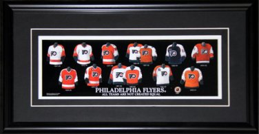 Philadelphia Flyers Jersey Evolution frame