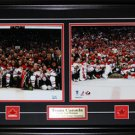 Team Canada 2010 Men & Women Hockey 11x14s Gold Frame