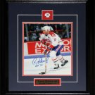 Larry Robinson Montreal Canadiens signed 8x10 frame