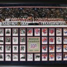 Montreal Canadiens Centennial Collector Card Collection frame