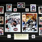 Patrick Roy Career 2 Photo Card frame