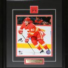 Michael Cammalleri Calgary Flames Signed 8x10 frame