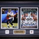 Russell Wilson Seattle Seahawks Superbowl XLVIII 2 photo frame