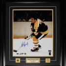 Phil Esposito Boston Bruins signed 16x20 frame