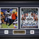 Marshawn Lynch Seattle Seahawks Superbowl XLVIII 2 photo frame