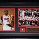 Lebron James Miami Heat 2013 Championship 2 photo frame