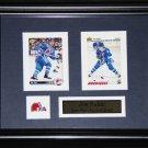 Joe Sakic Quebec Nordiques 2 card frame
