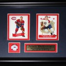 Jean Beliveau Montreal Canadiens 2 card frame