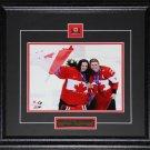 Hayley Wickenheiser & Shannon Szabados 2014 Team Canada 8x10 frame