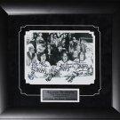 Hanson Brothers Slap Shot signed 8x10 frame
