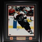 Eric Lindros Philadelphia Flyers signed 16x20 frame