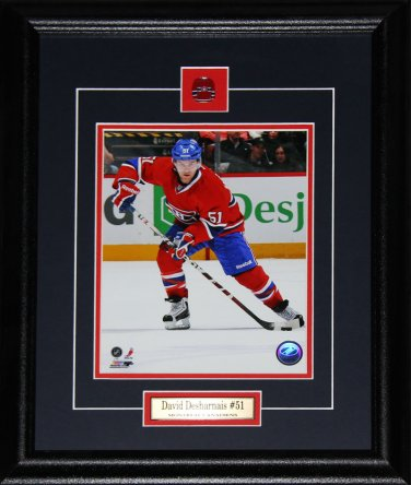 David Desharnais Montreal Canadiens 8x10 frame