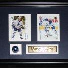 Darcy Tucker Toronto Maple Leafs 2 card frame