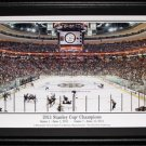Boston Bruins TD Garden Game 7 2011 panorama frame