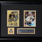 Adam Oates Boston Bruins 2 card frame