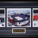 2014 Winter Classic Toronto Maple Leafs Detroit Red Wings 3 photo frame