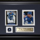 Tie Domi Toronto Maple Leafs 2 Card Frame