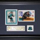 Joe Thornton San Jose Sharks 2 Card Frame