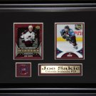 Joe Sakic Colorado Avalanche 2 Card frame