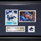 Henrik Sedin Vancouver Canucks 2 Card Frame