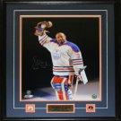 Grant Fuhr Edmonton Oilers Signed 16x20 Frame