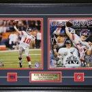 Eli Manning Superbowl XLII New York Giants MVP 2 photo frame