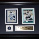 Ed Belfour Toronto Maple Leafs 2 Card frame