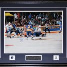 Doug Gilmour Toronto Maple Leafs Signed Overtime Goal 16x20 frame