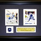 Wendel Clark Toronto Maple Leafs 2 Card Frame
