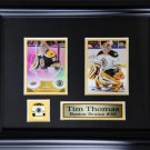Tim Thomas Boston Bruins 2 Card Frame