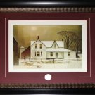 Winter Sun - 1961 Canada Art frame