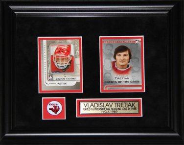 Vladislav Tretiak USSR 2 Card Frame