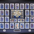 Toronto Parkies Card Set signed by Bower Kelly Baun Ullman frame