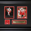 Tomas Holmstrom Detroit Red Wings 2 Card Frame