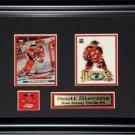 Scott Stevens New Jersey Devils 2 Card Frame