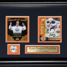 Ryan Nugent-Hopkins Edmonton Oilers 2 Card frame