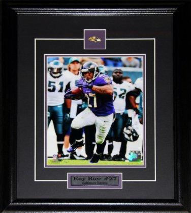 Ray Rice Baltimore Ravens 8x10 frame