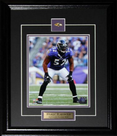 Ray Lewis Baltimore Ravens 8x10 frame