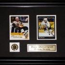 Ray Bourque Boston Bruins 2 Card Frame