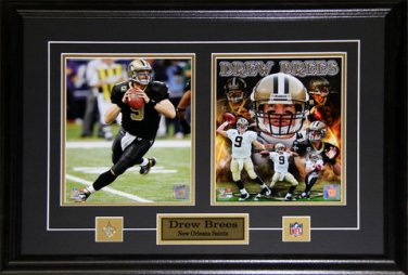 Drew Brees New Orlean Saints 2 photo frame