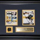 Derek Roy Buffalo Sabres 2 Card Frame