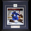 Mike Palmateer Toronto Maple Leafs signed 8x10 frame