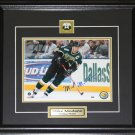 Mike Modano Dallas Stars Signed 8x10 frame
