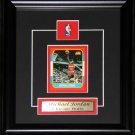 Michael Jordan Reproduction Reproduction Card Frame