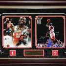 Michael Jordan Chicago Bulls 2 photo signed frame