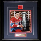 Maurice The Rocket Richard Montreal Canadiens Stanley Cup 8x10 frame