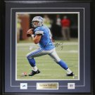 Matthew Stafford Detroit Lions Signed 16x20 Frame