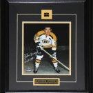 John Bucyk Boston Bruins Signed 8x10 Frame