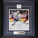 Joe Nieuwendyk Toronto Maple Leafs signed 8x10 frame