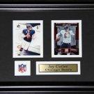 Jay Cutler Chicago Bears 2 Card Frame